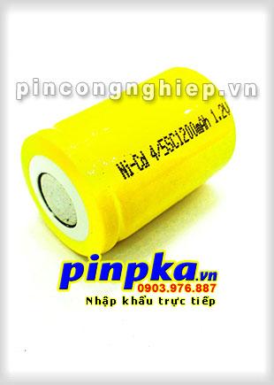 Pin Sạc Công Nghiệp-Pin Cell 1,2v NiCD 4/5SC 1200mAh